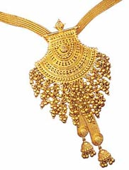 Indian Crafts - Gold Jewellery