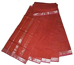 Indian Crafts - Maheshwari Saree